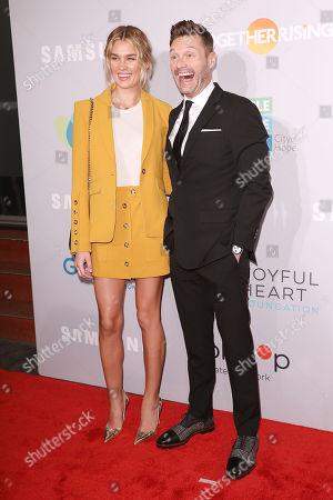 Shayna Taylor and Ryan Seacrest