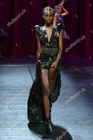 Tami Williams on the catwalk
