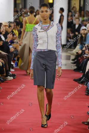 Stock Picture of Dany Rose on the catwalk
