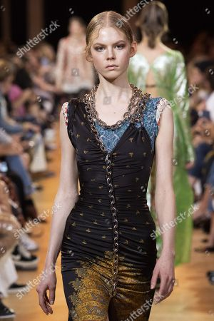Stock Picture of Jolie Alien on the catwalk