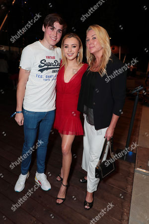 Editorial image of AwesomenessTV and Hulu premiere of 'Light as a Feather', Los Angeles, USA - 27 Sep 2018