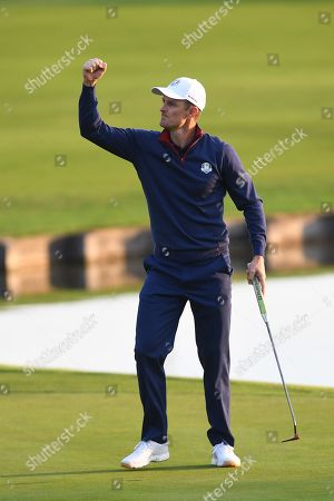 Editorial image of Ryder Cup 2018, Guyancourt, France - 28 Sep 2018
