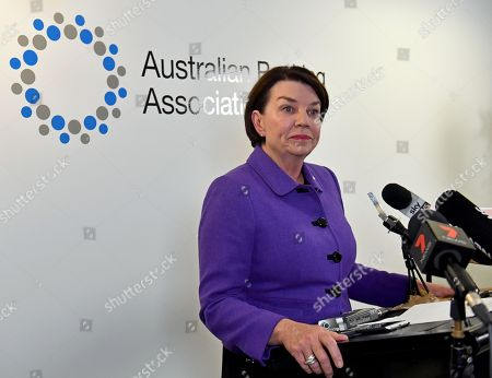 Australian Banking Association (ABA) CEO Anna Bligh speaks to the media during a press conference in Sydney, New South Wales, Australia, 28 September 28, 2018. A landmark inquiry said that the culture and conduct of the financial sector have fallen below community standards, with greed and profit coming before honesty and integrity. A royal commission investigated a series of scandals involving misconduct in the nation's banking and financial service.
