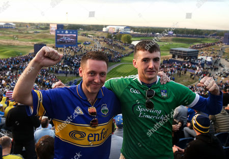 Richard Caplice from Clonmel, Co. Tipperary, and Wayne Walsh, from Anglesboro, Co. Limerick