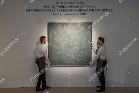 Gray Rectangles, 1957, by Jasper Johns, est $20-30m - Frieze week auction highlights at Christie's King Street.