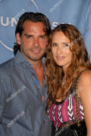 Cristian De La Fuente and Angelica Castro