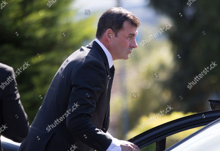 Editorial image of Enzo Calzaghe Funeral, Newbridge, Wales, UK - 28 Sep 2018