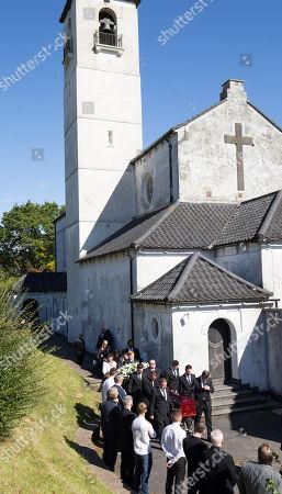 Editorial photo of Enzo Calzaghe Funeral, Newbridge, Wales, UK - 28 Sep 2018