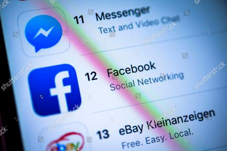 Facebook Facebook Messenger App Apple App Store Editorial Stock Photo Stock Image Shutterstock