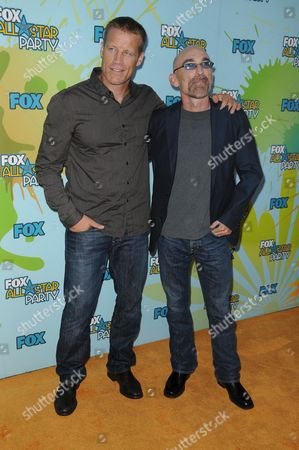 Mark Valley and Jackie Earle Haley
