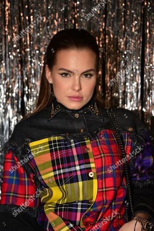 Editorial photo of Isabel Marant show, Front Row, Spring Summer 2019, Paris Fashion Week, France - 27 Sep 2018