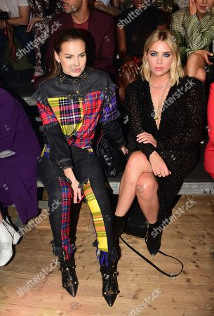 Stock Picture of Daria Klyukina, Ashley Benson in the front row