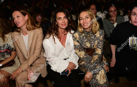Mademoiselle Agnes, Alexandra Golovanoff in the front row