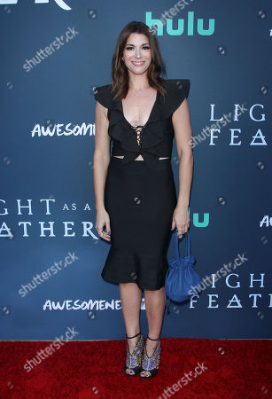 Editorial photo of 'Light as a Feather' TV show premiere, Santa Monica, USA - 27 Sep 2018