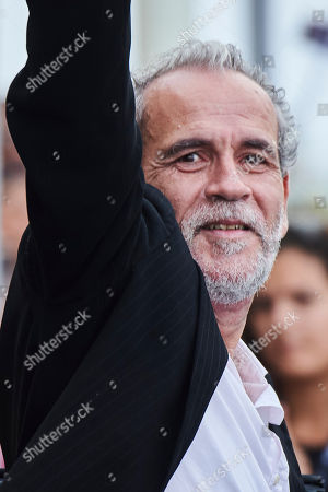 Editorial image of Willy Toledo out and about, 66th San Sebastian International Film Festival, Spain - 28 Sep 2018