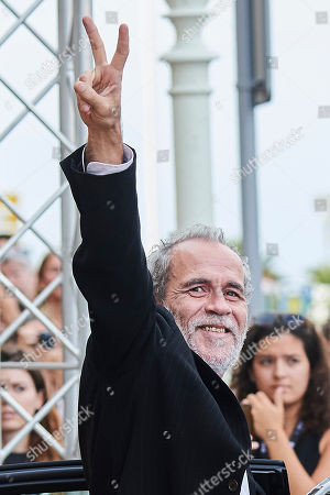 Editorial photo of Willy Toledo out and about, 66th San Sebastian International Film Festival, Spain - 28 Sep 2018