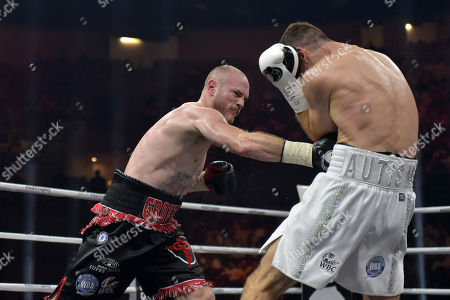 Callum Smith defeats George Groves during a Boxing Show at King Abdullah Sports City on 28th September 2018