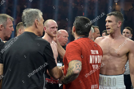 George Groves after defeat by Callum Smith during a Boxing Show at King Abdullah Sports City on 28th September 2018