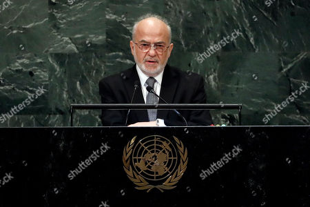 Editorial photo of UN General Assembly Iraq - 28 Sep 2018