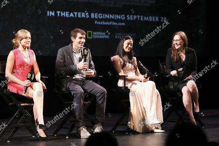 Editorial picture of 'Free Solo' Gala screening, LA Film Festival, USA - 27 Sep 2018