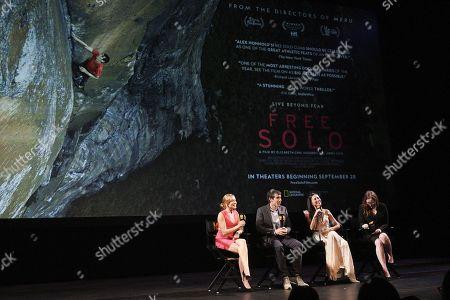 Sanni McCandless, Alex Honnold, Elizabeth Chai Vasarhelyi, Jennifer Cochis