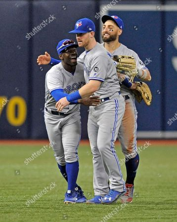 Editorial image of Blue Jays Rays Baseball, St. Petersburg, USA - 28 Sep 2018