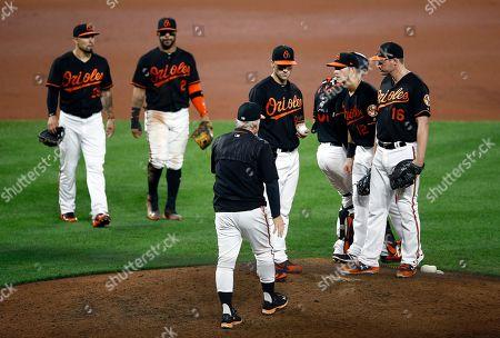 Editorial picture of Astros Orioles Baseball, Baltimore, USA - 28 Sep 2018