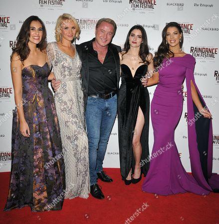 Lara Lemon, Nicole Evans, Michael Flatley, Raha Rahbari and Mary Louise Kelly