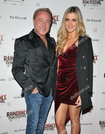 Michael Flatley and Victoria Brown
