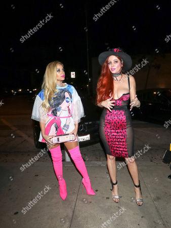 Sophia Vegas Wollersheim and Phoebe Price