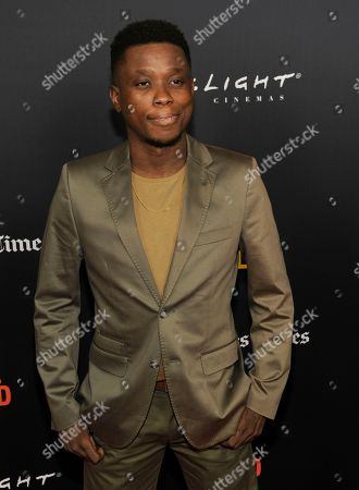 "Editorial photo of 2018 Film Festival - ""Nomis"", Los Angeles, USA - 28 Sep 2018"