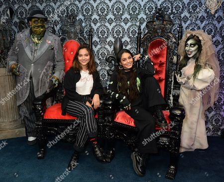 Editorial picture of Celebrities out and about at Knott's Scary Farm, Los Angeles, USA - 28 Sep 2018
