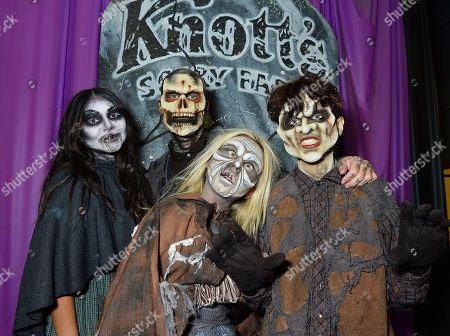Travis Barker and kids Alabama Luella Barker, Landon Barker and Atiana De La Hoya