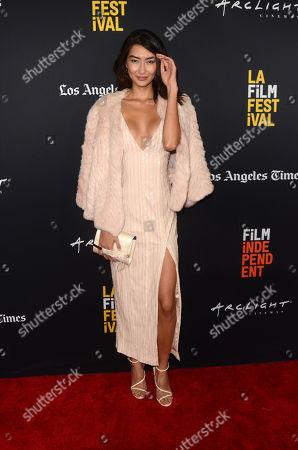 Editorial picture of 'Nomis' premiere, LA Film Festival, Los Angeles, USA - 28 Sep 2018