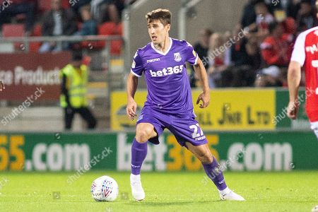 Stoke City forward Bojan Krkic during the EFL Sky Bet Championship match between Rotherham United and Stoke City at the AESSEAL New York Stadium, Rotherham