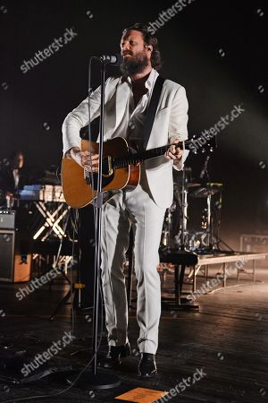 Editorial image of Father John Misty in concert at The Fillmore, Miami Beach, USA - 28 Sep 2018