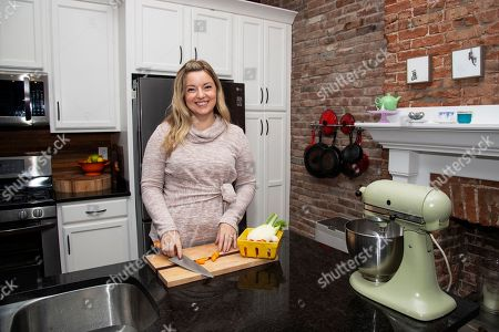 Stock Image of Chef Damaris Phillips seen in Louisville, in Louisville, Ky. Damaris was scheduled to appear during Day 2 of Bourbon and Beyond Music Festival