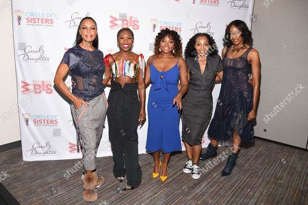 Cindy Herron, Cynthia Erivo, Naturi Naughton, Terry Ellis and Rhona Bennett