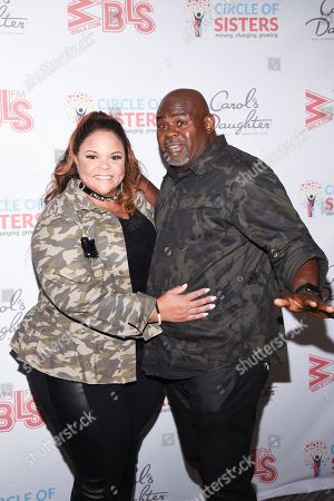 Stock Picture of Tamela Mann and David Mann