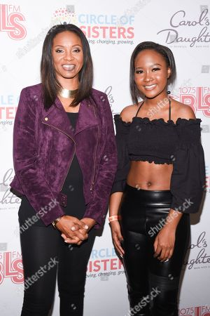 MC Lyte and Donshea Hopkins