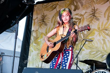 Lauren Ruth Ward seen at Ohana Festival at Doheny State Beach, in Dana Point, Calif