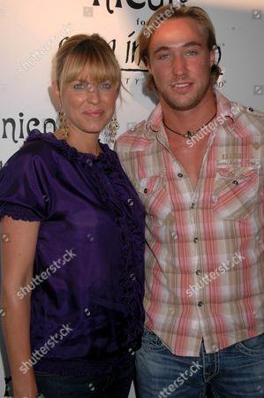 Arianne Zucker and Kyle Lowder