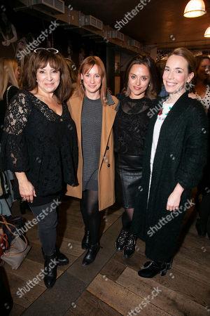 Stock Photo of Harriet Thorpe, Kellie Shirley, Zoe Tapper and Laura Main
