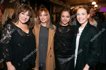 Harriet Thorpe, Kellie Shirley, Zoe Tapper and Laura Main