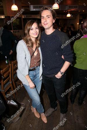 Hannah Tointon and Joe Thomas