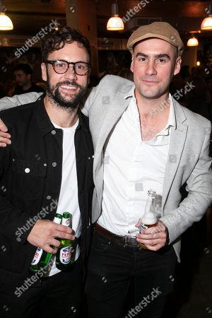 Nick Blood and Ben Deery (Frank/Zachariah Blunt)