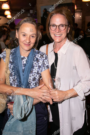Stock Photo of Niamh Cusack and Penny Downie