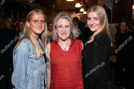 Stock Photo of Grace Teale, Sylvestra Le Touzel (Mrs Needham/Lady Thornhill) and Eliza Teale