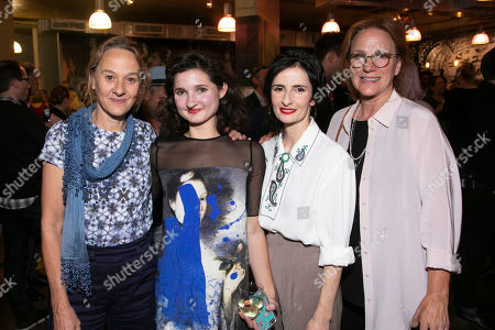 Niamh Cusack, Ruby Bentall (Jane Hogarth/Nancy/Mrs Ryott), Jasmine Jones (Sarah Sprackling/Bridget) and Penny Downie