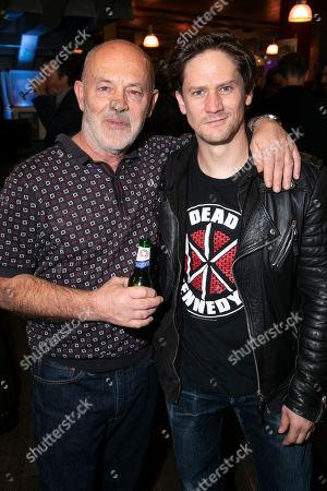 Keith Allen (William Hogarth) and Bryan Dick (William Hogarth)